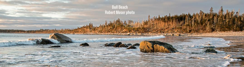 Bull Beach Taylor Head Provincial Park